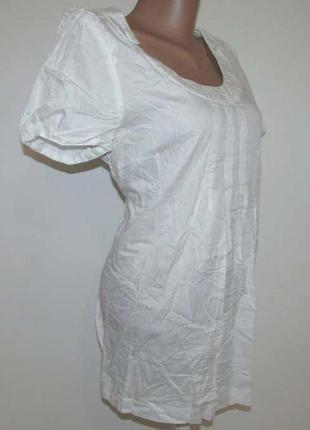Блузка kappahl, 100% хлопок, l, как новая!