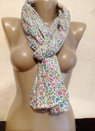 Летний  легкий шарфик