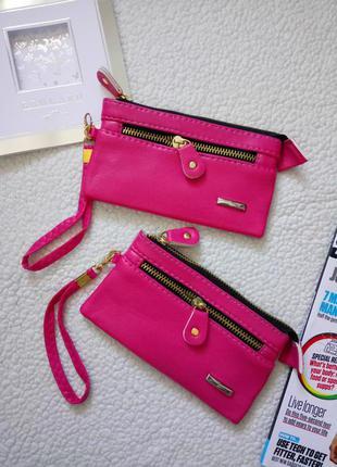 Новый кошелёк, чехол, сумочка розовый