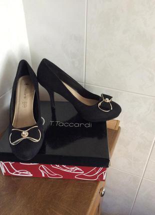 Туфли женские на небольшой платформе t.taccardi