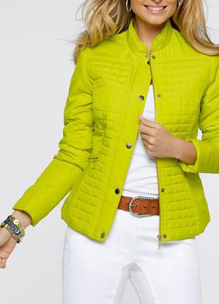 Шикарная курточка цвета нежный лайм, l/xl