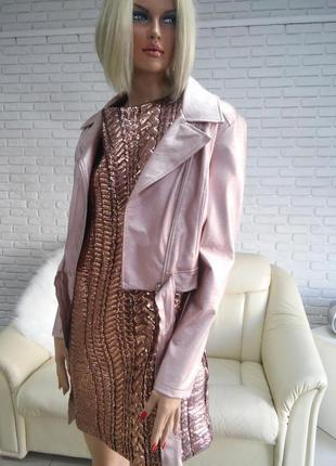 Новая коллекция платье бронзовое л и хл распродажа закрытие магазина