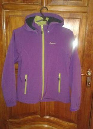 Фирменная демисезонная softshell куртка icepeak  на рост 164 см