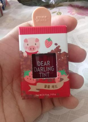 Тинт для губ etude house dear darling water gel tint
