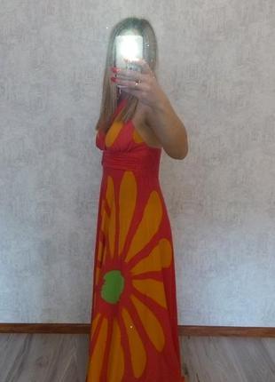 Шикарный сарафан   турция(можно беременным)
