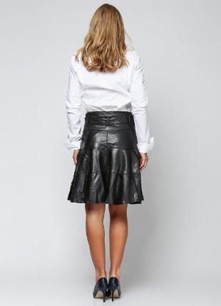 Кожаная юбка новая (искусственная кожа) размеры м ( 36) и л (38)арт.190