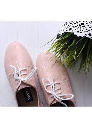 Летние кожаные кеды розовые, кеды кожа натуральная6 фото