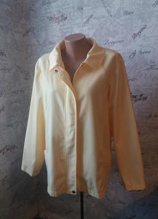 Куртка-ветровка 56/58р (много вещей больших размеров)