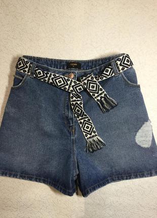 Шорты джинсовые большой размер