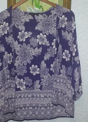 Пляжная блуза накидка 100% вискоза