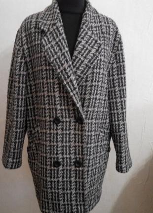 Твидовое пальто англия р14-16