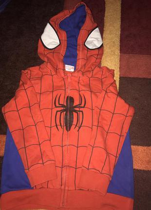 Кофта человека паука