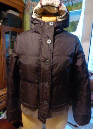 Куртка -пуховик firetrap наш р.42