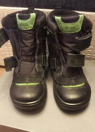 Срочно!!! ботинки ecco snow rush размер 30