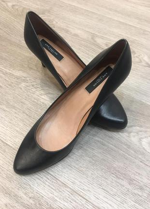 Туфли кожаные ann taylor
