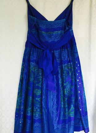Шелк 100%  платье oasis