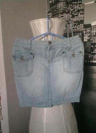 Джинсовая юбка r.marks