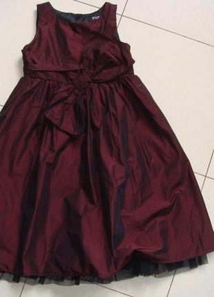 Вечернее платье некст 2-3года