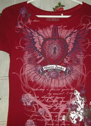 """Супер футболка""""guess""""р.s,100%коттон,гватемала-135грн.4 фото"""