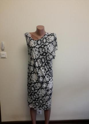 Тонкое трикотажное платье gina tricot