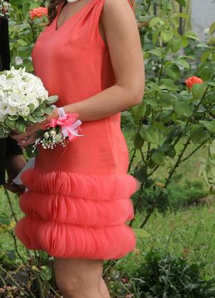 Шелковое платье emporio armani свадьба, выпускной, вечер, коктейль, свидетельница, дружка