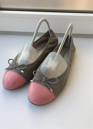 37р 24см tamaris кожаные балетки