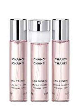 Chanel chance tendre сменный блок