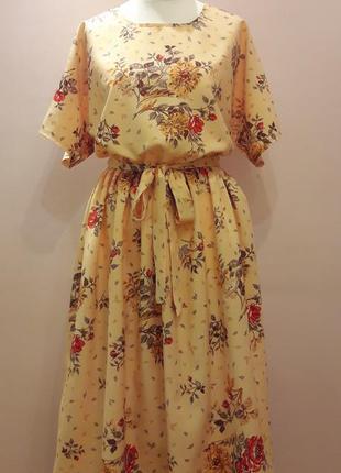 Акция!!! платье в цветочный принт