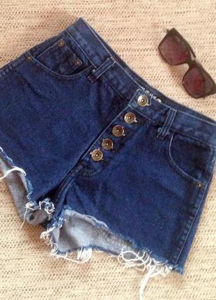 Крутые джинсовые шорты американки punny jeans