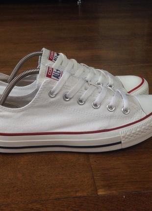 Кеды белые converse (оригинал) 39.5 р., 25 см.