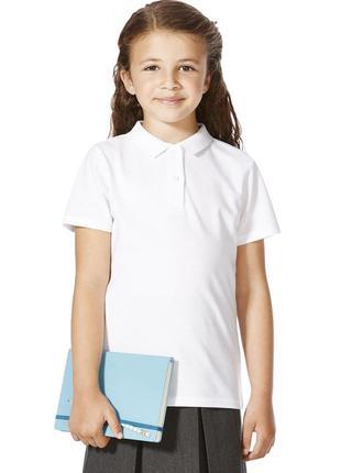 Школьные блузочки-поло george 6-7-8-9-10 лет