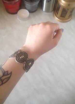 Очень красивый браслет в бохо/этно стиле от скифской этники