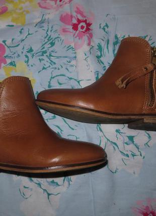 Деми ботинки кожа р.28