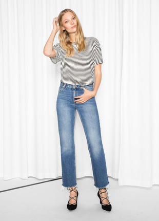 Обрезанные джинсы &other stories размер 27