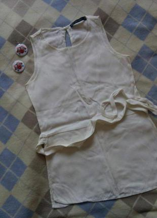 Zara basic блуза