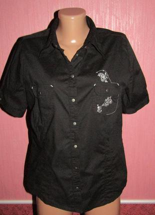 Рубашка р-р 14 стрейч бренд x-mail