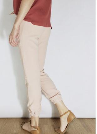Пудровые штаны
