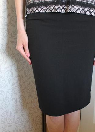 Классическая юбка карандаш миди