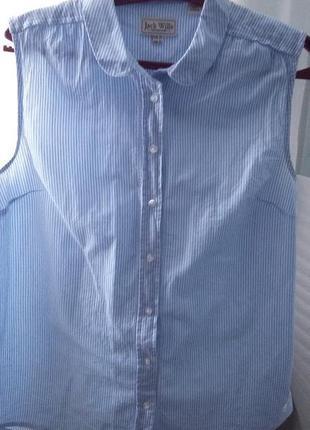 Хлопковая рубашка jack wills