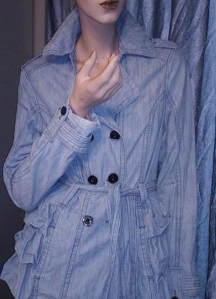 Куртка джинсовка некст.