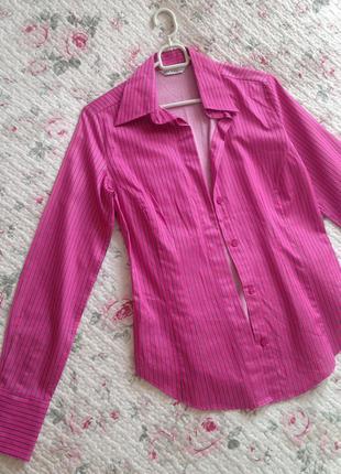 Рубашка розовая marks & spencer