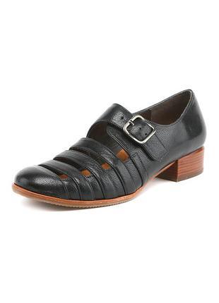 Дорогие кожаные туфли chie mihara! производство испания! 38 р.