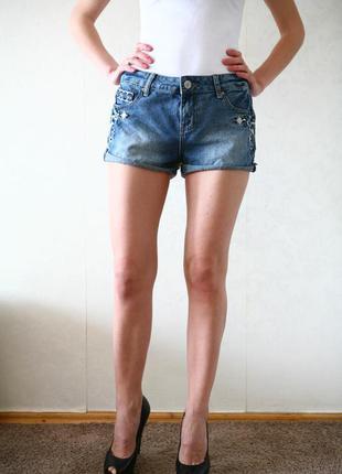 Джинсовые шорты,женские шорты,короткие джинсовые шорты