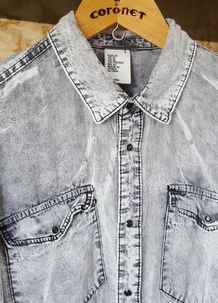 Эксклюзивная рубашка h&m