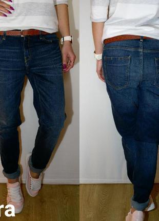 Красивые темно-синие джинсики zara