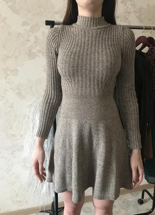 Идеальное вязаное платье bershka на этот сезон