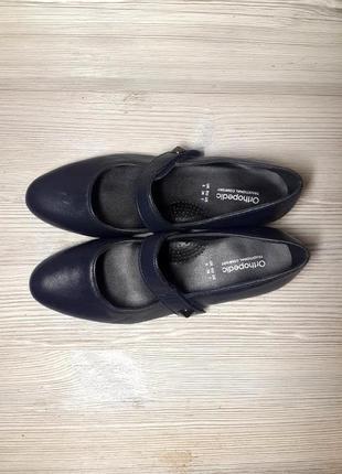 Туфли ортопедические orthopedic comfort 38 р./25,5 см.
