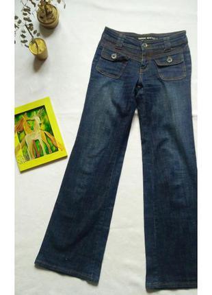 """Оригинальные темно-синие джинсы """"miss sixty"""""""