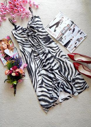 Новое платье debenhams черно-белый принт