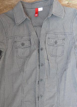 H&m рубашка в клетку